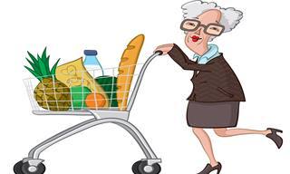 Piada: A Velhinha no Supermercado