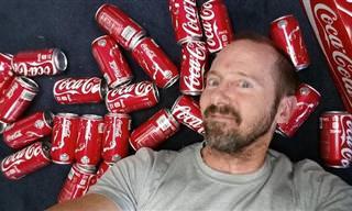 Conheça o Homem Que Bebeu Muita Coca-Cola