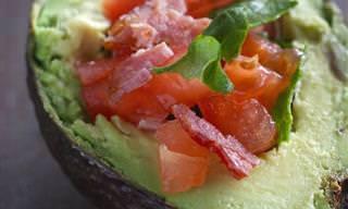 9 Deliciosas e Saudáveis Receitas de Abacates Recheados