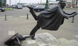 Estátuas Insólitas Espalhadas Pelo Mundo