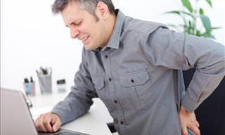 Hábitos Comuns Que Podem Causar Dor na Coluna