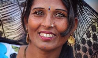 Fotógrafa registra belas imagens de habitantes da Índia