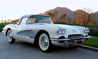 10 Belos Modelos de Carros dos Anos 60