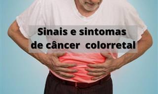 Câncer colorretal - preste atenção nestes 7 sinais!