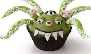 Quando Cupcakes e Criatividade se Encontram...