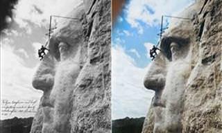 14 Fotos Históricas em Preto e Branco Agora em Cores