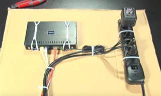 10 Dicas para organizar os cabos dos aparelhos eletrônicos