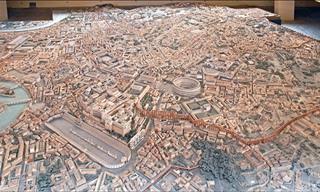 Uma Maquete do Império Romano
