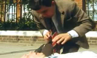 Humor: Durante uma emergência, CORRA do Mr. Bean!
