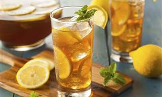 Garanta uma ótima hidratação com chás gelados
