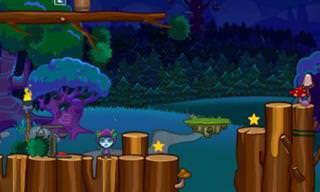 Ajude o Jovem Elfo a Encontrar a Flor Mágica na Floresta!