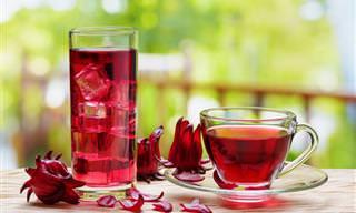 10 Razões Para Consumir Chá de Hibisco