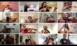 Orquestra de Rua de Jerusalém em Quarentena