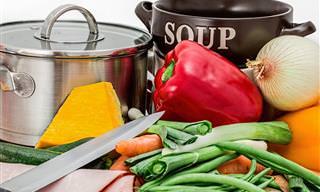 6 Técnicas Saudáveis de Cozinhar!