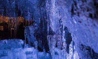 Preciosidade Canadense: Cavernas de Gelo de Ontário