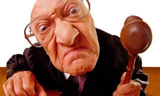 Piada: Um juiz honesto