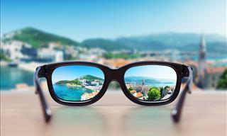 Este truque te permitirá ver sem óculos!