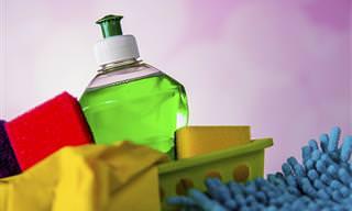 15 formas criativas de usar o detergente que você nunca imaginou