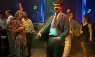 Clássico do Mr Bean: O amor está no ar...