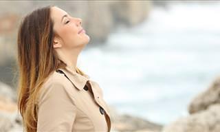 3 Exercícios de Respiração Simples Que Vão Aliviar as Ondas de Calor da Menopausa