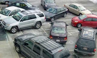 15 Fotos Hilárias de Carros Mal Estacionados