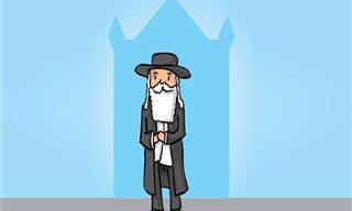 Piada: Acha Que Pode Enganar o Rabino?