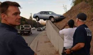Os Acidentes de Carro Mais Bizarros