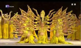 Imperdível: A Dança das Mil Mãos!