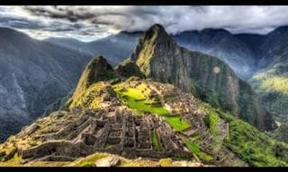 Um dos lugares mais maravilhosos do mundo: Machu Picchu!