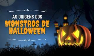 A  assustadora história de 10 criaturas de Halloween