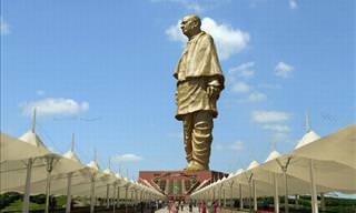 A Estátua da Unidade Está Quase Pronta na Índia
