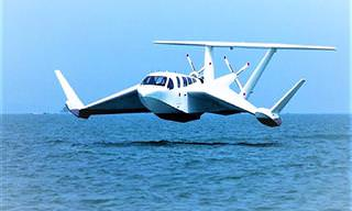 Viaje Com o Airfish 8, um Avião e Balsa ao Mesmo Tempo!