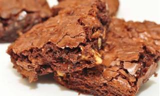 Receitas Fáceis de Brownies, Cookies e Croissant de Chocolate!