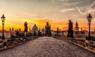 Um Passeio Pela Estonteante Praga!