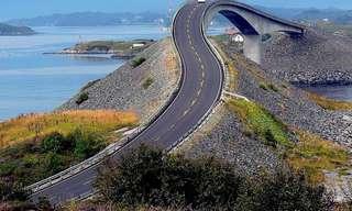 22 Incríveis Estradas e Paisagens!