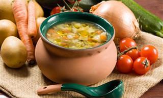 Receita: Deliciosa Sopa de Legumes