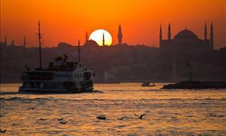 O Pôr do Sol Das Grandes Metrópoles Vai Inspirar Seu Dia