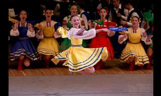Bela Dança Folclórica Russa: A Donzela