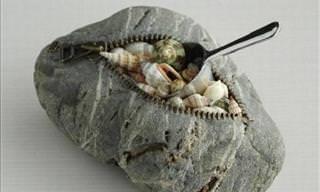 Conheça a Belíssima Arte Com Pedras do Artista Japonês Hirotoshi Itoh