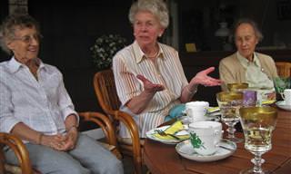 Piada do Dia: As Três Irmãs da Terceira Idade
