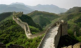A Grande Muralha da China como você jamais viu!