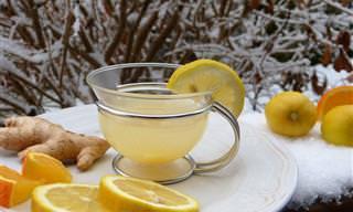 Chá de Limão Para Eliminar Gordura Localizada