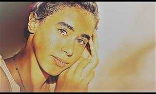 """Noa Peled canta""""O Mundo é Um Moinho"""" em hebraico"""
