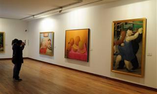 A Arte Espetacular de Fernando Botero