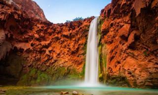 Você Sabia Que Existem Cachoeiras Incríveis Nos EUA?