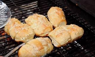 Receita de Hoje: Pão de Alho Para Churrasco