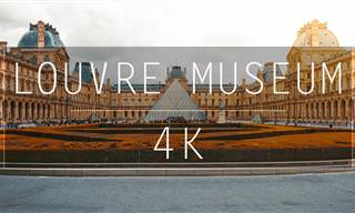 Aprecie as belezas do Louvre em preciosos detalhes