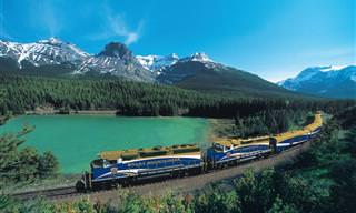 Conheça 12 Viagens de Trem em Lugares Incríveis