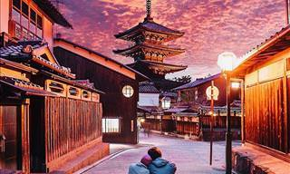 Fotos Belíssimas Durante a Estação de Flores de Cerejeira no Japão