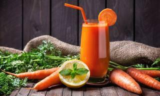 O Poder do Suco de Cenoura Na Sua Saúde